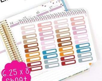 FP LS315 Fall Small Appointment Boxes!  Set of 40 Perfect for the Erin Condren Planner!!!