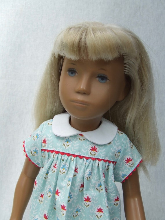 4d2bf770700 Aqua floral print Kleid und Hose set für Sasha Mädchen