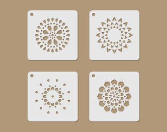 Mandala Motives Mini Stencil Set
