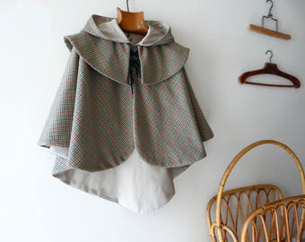 From riffifi at fairies: Sherlock Holmes, the little detective costume! T