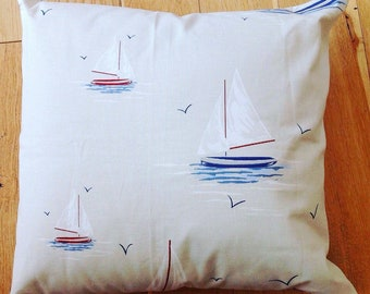 Gifts for the home, yatching sailing boating themed cushion cover