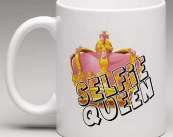 Selfie Queen Mug