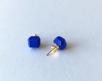 Mint Geometric Stud Earrings Geo Earrings Simple