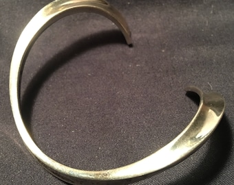 Denmark solid sterling silver 1960s Cuff