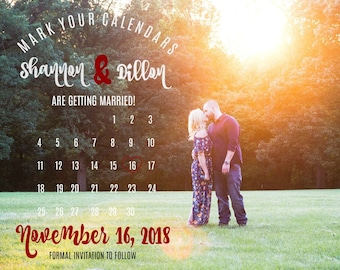 Save The Date - Calendar