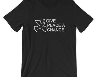 Give Peace A Chance T-shirt Peace 1960 Imagine
