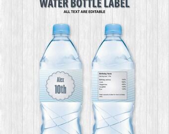The Secret Life of Pets Water Bottle Labels