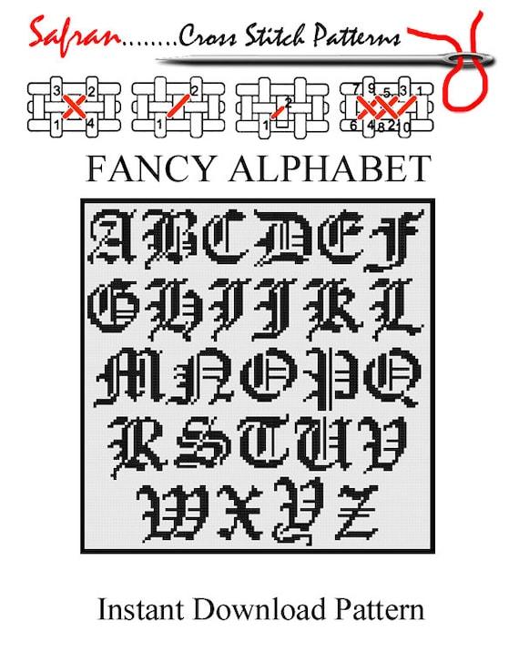 free fancy letters