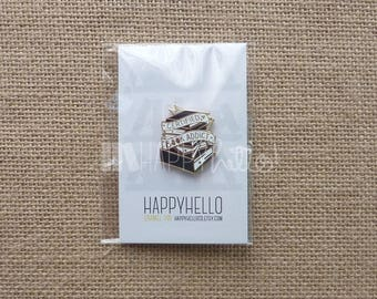 Enamel Pin • Book Addict