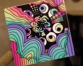Eye Trip Sticker