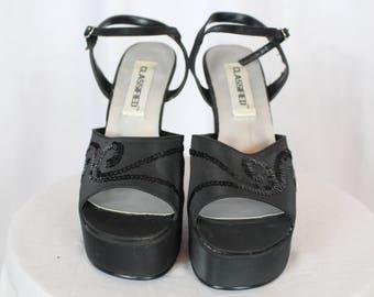 90s classified vintage platform shoes