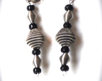 Dynamic Leverback Dangle Earrings