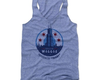Chicago Women's Tank | Destinations & Illinois | Women's Tank Top | Willis Tower Pronounced Sears