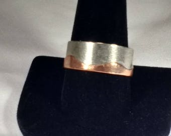 Nickel and Brass Ring