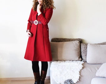 Comfy and nice | Woolen coat size M/L