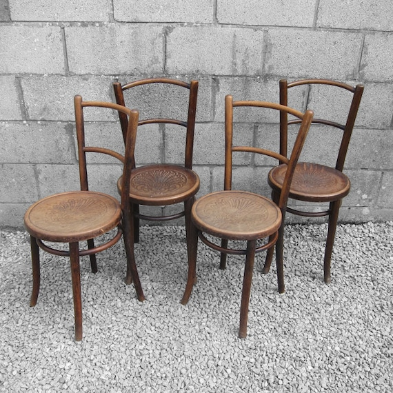 Bentwood Chair Thornet Fischel 1920s Patten Seat 1 PAIR AVAILABLE