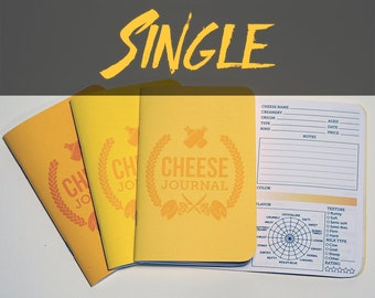 Cheese Tasting Journal (Single)