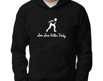 Live love Roller Derby Hoodie