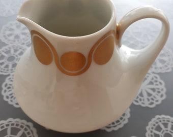 Porcelain Milk Jug 70s design