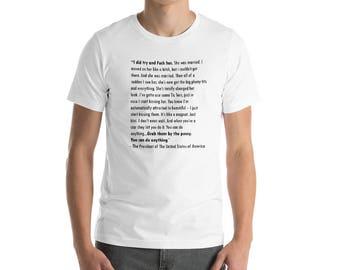 Grab her short sleeved t-shirt