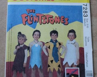 Vintage McCall's Costumes Pattern 7283 - Size 5, 6 (Medium) The Flintstones