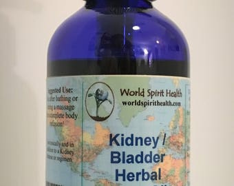 Kidney | Bladder Herbal Body Oil