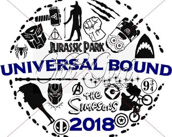 Universal Bound SVG, DXF, EPS & Jpeg