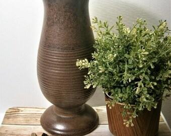 Vintage 70s vase Dumler & Breiden model no. 1027/30 west Germany Pottery