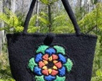Stained Glass Window Bag - knit