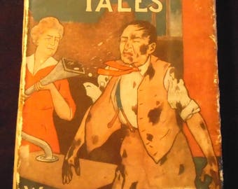 More Tuttlebury Tales A Book of Laughter Antique WWI Era British Humor HBDJ Rare Collectible