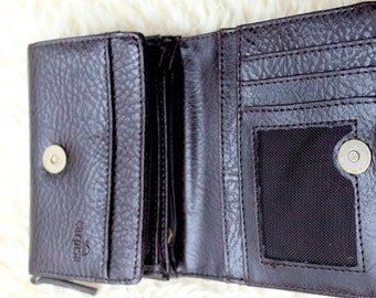 """wallet """"CARPISA"""" new, brown, small size, very comfortable"""