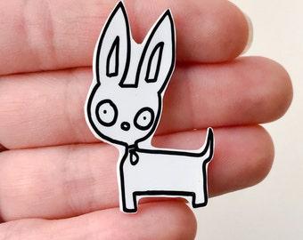 Chihuahua Shrink Plastic Pin