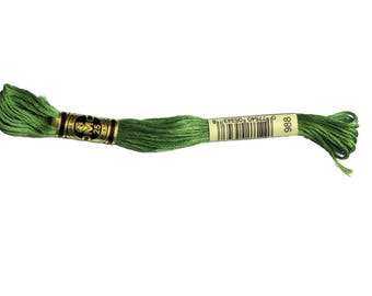 Special n * 988 stranded DMC thread, cotton, embroidery FLOSS skein.