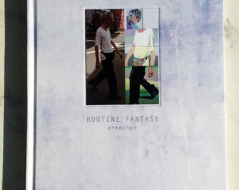 Hardcover art book Routine Fantasy by armechan 84pp street snap + paintings Art & Photography