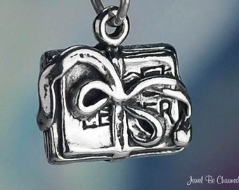 Sterling Silver Bundle of Letters Charm Mail Memories Love Letters 925