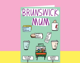 Mother's Day Card  - Brunswick Mum