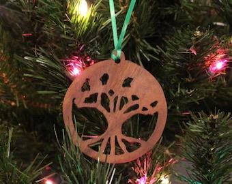 Ornament - Tree of Life - Walnut