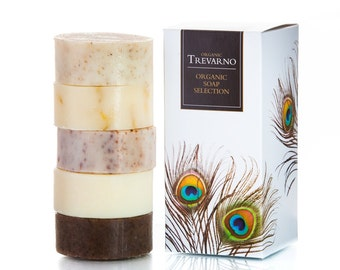 Trevarno Organic Soap Selection Box