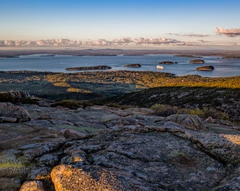 Cadillac Mountain Fine Art Panoramic Print