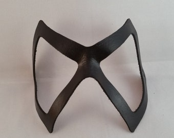 Ms Marvel Inspired Mask - Hero Mask - Handmade Leather