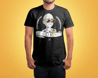 OK Shirt inspired by One Punch Man Shirt / One Punch Man TShirt / One Punch Man Shirt / Saitama OK / Anime Shirt / Manga Shirt