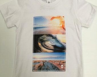 Gnarly Bones T-shirt - DTG Triple Surf Tee