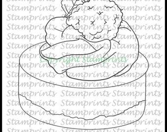 Dessert (TLS-1822) Digital Stamp. Cardmaking.Scrapbooking.MixedMedia.