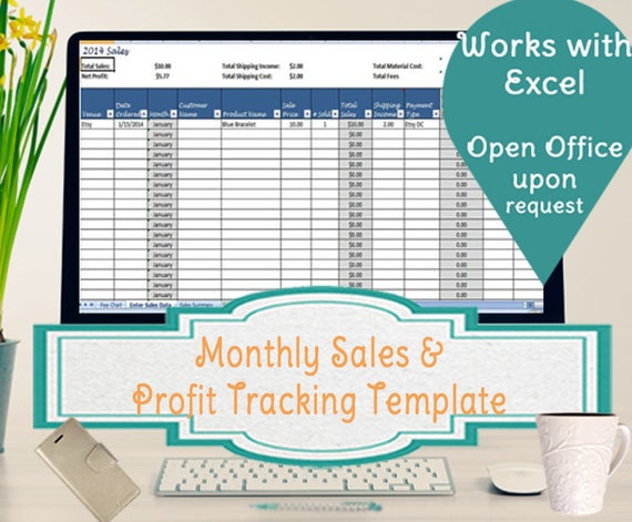 sales tracking templates