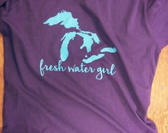 Fresh Water Girl Comfy Tee