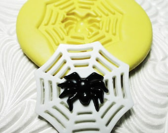 SPIDER WEB Mold Flexible Silicone Push Mold for Resin Wax Fondant Clay Fimo Ice 7243