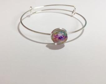 Rainbow Burst Adjustable Bracelet (Adult)
