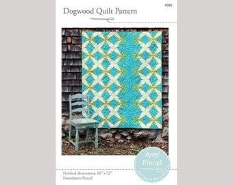 Dogwood Quilt Pattern  --Paper