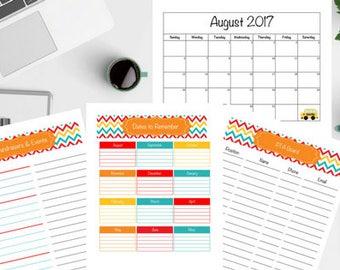 PTA Printable Calendar and Sheets