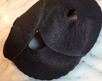 Vintage Maison Maurice Black Hat  / Fascinator